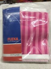 FLEXA PINK PLAY CURTAIN EXTENSION, NIB, FLEXA #738062 - PINK/STRIPES - FREE SHIP