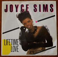 """Joyce Sims – Lifetime Love 7"""" – LON137 – VG"""