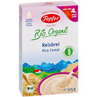 TOPFER Whole-Grain Rice Cereal Baby 4 Month - Sugar Free - Milk Free 175g 6.2oz