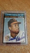Frank Robinson 2005 Topps All-Time Fan Favorites Auto AUTOGRAPH On Card Orioles