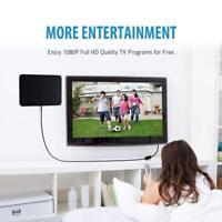 Antena Interior TV, TDT HDTV Portatil Amplificador VicTsing Obtenga muchos canal