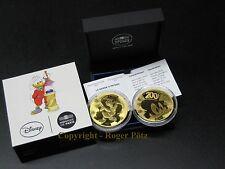 200 Euro 2017 Dagobert Duck Gold PP Jugendserie nur 500 Exemplare Auflage proof