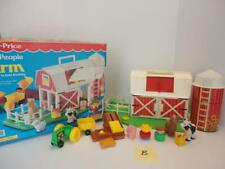 Vintage Fisher Price FARM Playset #2555 1990