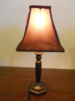 BROWN DESK OFFICE LIGHT LAMP  SHAdE ROOM table bronze