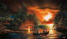 Evening Rendezvou limited edition print by Terry Redlin