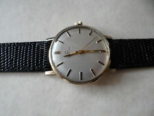 VINTAGE GENTS CERTINA 9 CT SOLID GOLD MECHANICAL WATCH VERY GOOD CONDITION