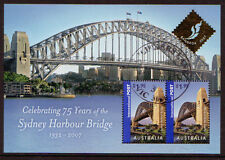 AUSTRALIA 2007 SYDNEY HARBOUR BRIDGE MS OPT. BANGKOK FINE USED