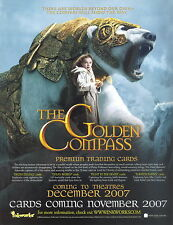 THE GOLDEN COMPASS 2007 INKWORKS PROMO PROMOTIONAL SELL SALE SHEET