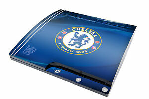 Playstation 3 Slim Console Skin Sticker Chelsea Football Club PS3 Blues New