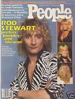 1979 People February 5 - Rod Stewart, Robert DeNiro