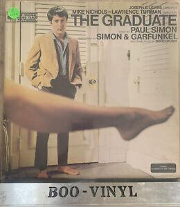 The Graduate Film Soundtrack Vinyl Record CBS 70042 Simon & Garfunkel VG+ / VG+