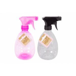 2 Pack 500ml Plastic Clear Empty Spray Bottle Water Spray Bottle Flower Plants