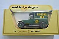 Lipton Tea Diecast Vintage Car Models of Yesteryear