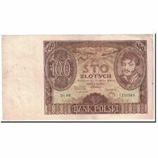 [#120015] Banknot, Polska, 100 Zlotych, 1932, 1932-06-02, KM:74a, AU(50-53)