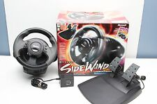 Microsoft SideWinder Force Feedback USB Racing Wheel w/ Box, Manual - X04-97607