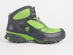 Mens Timberland Tma All Mtn Gore-Tex 87164 Green Textile Lace Up Hiking Boots