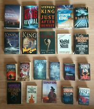 Stephen King Lot of 21, Hard & Soft Cover.