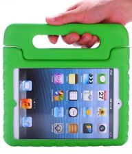 For iPad Mini 1, 2, & 3 GREEN Kids Shock Proof EVA Foam Case Handle Cover Stand