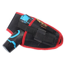 Heavy Duty Drill Holster Storage Holder Pouch Belt Universal Waist Tool Belt Bag