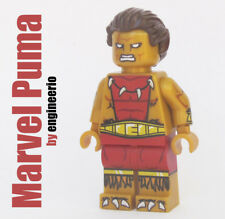 LEGO Custom -- Puma -- Marvel Super heroes minifigures spiderman