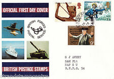 1972 Anniversaries - Bfps Cover - Field Post Office 164 Cds