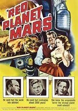 Red Planet Mars (DVD, 2006) Peter Graves-Harry Horner-Utopia-Soviet Union