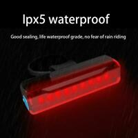 LED Bicycle Taillight Bike Safety Warning Light with Three Dimming Modes