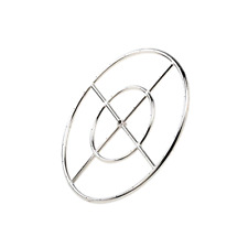 """New 18"""" Round Fire Pit Burner Ring 304 Series Stainless Steel BTU 147,000 Max"""