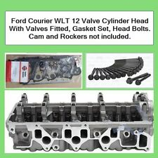 Ford Courier WLT Cylinder Head 2.5 Ltr Diesel with Valves Fitted, Gaskets, Bolts