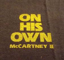 McCARTNEY II ON HIS OWN 1980 Vintage TShirt John Lennon Rolling Stones Beatles