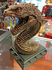 Harry Potter The Chamber of Secrets Basilisk Bookend Noble Collection