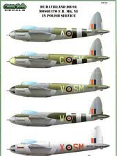 Model Maker Decals 1/32 DE HAVILLAND DH-98 MOSQUITO F.B. Mk.VI Mask & Decals