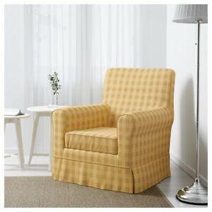 * New Original IKEA cover set for Ektorp JENNYLUND armchair in SKAFTARP Yellow