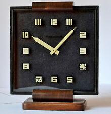 PENDULETTE ANCIENNE JAEGER LECOULTRE ART DECO 1930 8 JOURS VINTAGE DESCK CLOCK