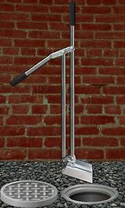 Gully Grab Drain Scoop Heavy Duty for Plumbers etc 1.5mt Reach Large Bucket Unit