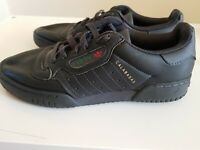 Adidas Calabasas Yeezy Powerphase Core Black Trainers Size 6