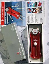 OMEGA INTROVABILE coltellino multifunzione da GOLF VICTORINOX originale NUOVO