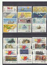 SPAIN ESPAGNE mix ATM Pesetas Euro 24v used