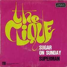 "CLIQUE ""SUGAR ON SUNDAY"" ORIG FR SINGLE TEXAS POP PSYCH 1969"