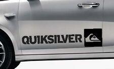 2x Quicksilver surf logo vinyl car / van graphic decal stickers any colour VW #1