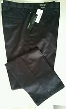 Mens New blue tailored fit Chino-Italian Fabric Autograph-M&S. 38/33