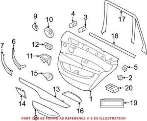 Genuine OEM Interior Door Pull Handle for BMW 51417345332