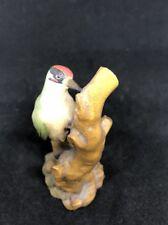 Anri Italy Woodpecker Bird Figurine