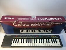 Vintage Casio Casiotone MT-55 Electronic Musical Instrument Keyboard Synthesizer