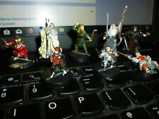 Warhammer x8 Metal Lord Of The Rings Characters from The Fellowship of The Ring