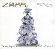 RENATO ZERO BOX 4 CD SINGLE LIMITED AMORE DOPO AMORE UN FELICE NATALE 1998 RARO