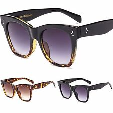 Womens Quality Large Frame Size Hand Polished Sunglasses UV400 CE
