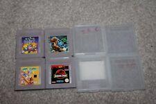 Nintendo Gameboy-Tom Y Jerry, Jurassic Park, Wario Blast, fortaleza de miedo
