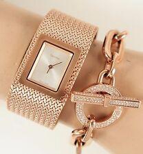 CALVIN KLEIN Damenuhr/Uhr K5L13636 MESH SWISS MADE Farbe:Rose Gold NEU