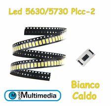 N° 10 Lampadine LED T5 Bianchi 7000K SMD 5630 X Fari Angel Eyes DEPO FK 1B8IT 1B